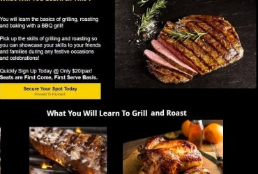 Weber Flavour Experience (Basic Grilling)